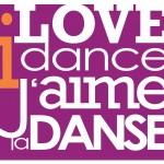 Text: I love dance. J'aime la danse