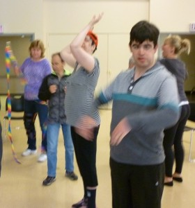 Photo: 6 people dancing different moves