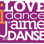 Text: I love dance. J'aime la danse