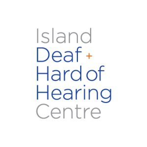 Logo for Island Deaf + Hard of Hearing Centre