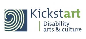 Logo for Kickstart Disability arts & culture